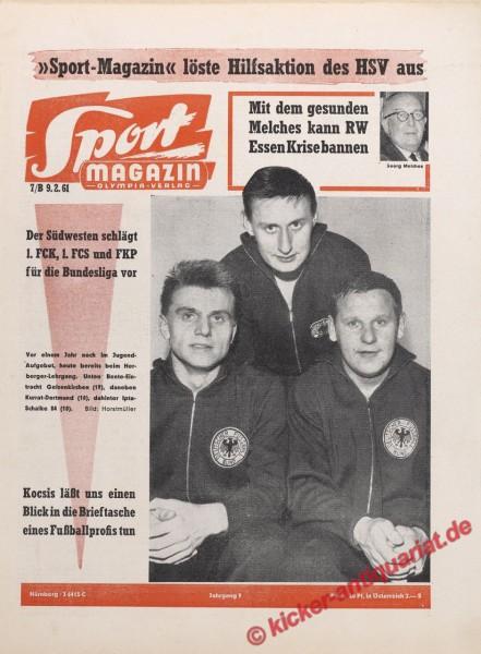 Sportmagazin Nr. 7B, 9.2.1961 bis 15.2.1961