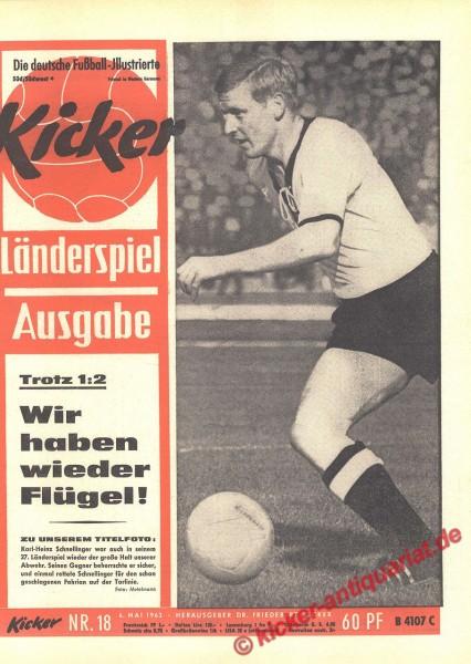 Kicker Nr. 18, 6.5.1963 bis 12.5.1963