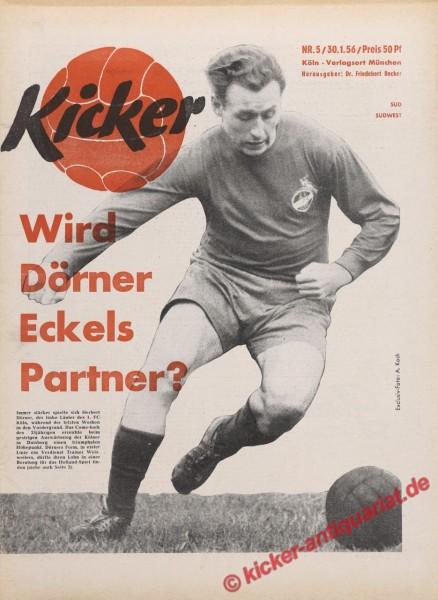 Kicker Nr. 5, 30.1.1956 bis 5.2.1956