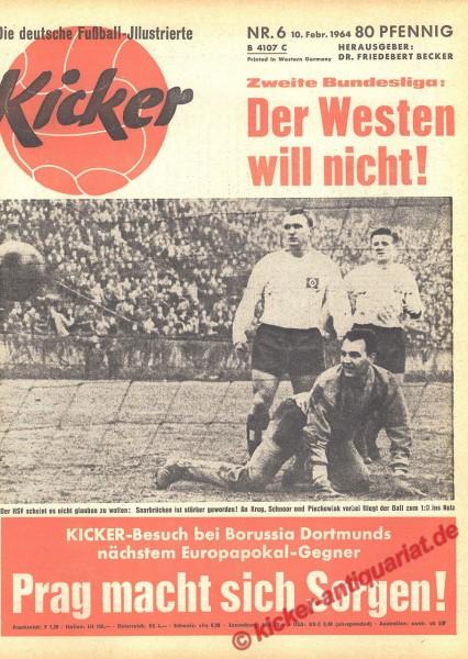 Kicker Nr. 6, 10.2.1964 bis 16.2.1964
