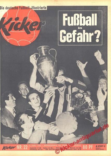 Kicker Nr. 22, 1.6.1964 bis 7.6.1964