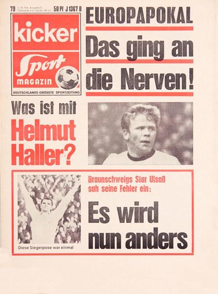 Kicker Sportmagazin Nr. 79, 2.10.1969 bis 8.10.1969