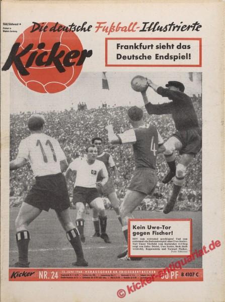 Kicker Nr. 24, 13.6.1960 bis 19.6.1960