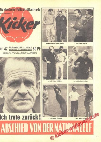 Kicker Nr. 47, 25.11.1963 bis 1.12.1963