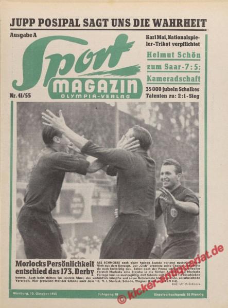 Sportmagazin Nr. 41A, 10.10.1955 bis 16.10.1955