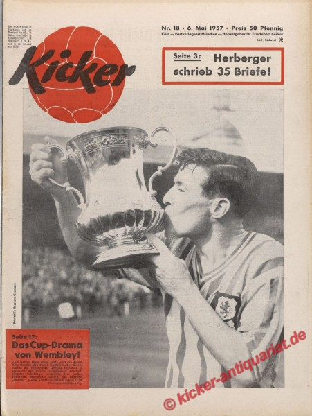 Kicker Nr. 18, 6.5.1957 bis 12.5.1957