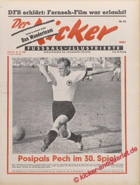 Kicker Nr. 51, 19.12.1955 bis 25.12.1955