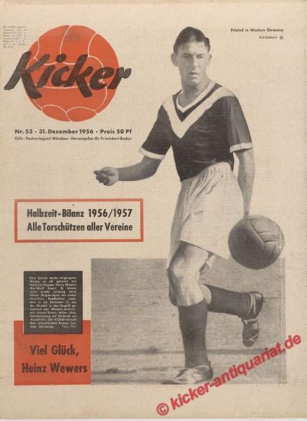 Kicker Nr. 53, 31.12.1956 bis 6.1.1957