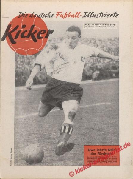 Kicker Nr. 17, 28.4.1958 bis 4.5.1958