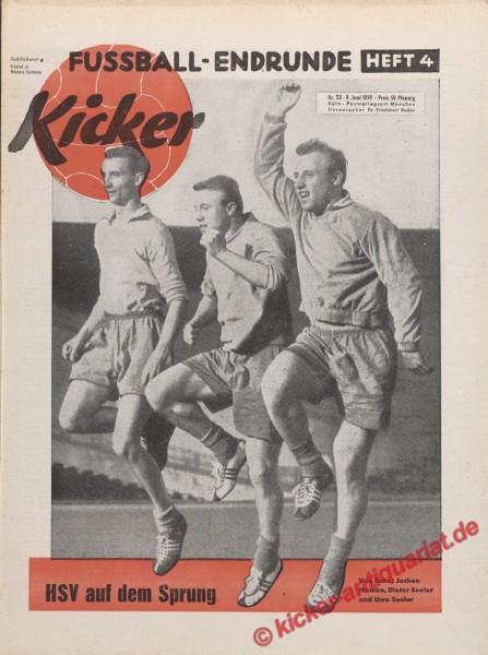 Kicker Nr. 23, 8.6.1959 bis 14.6.1959