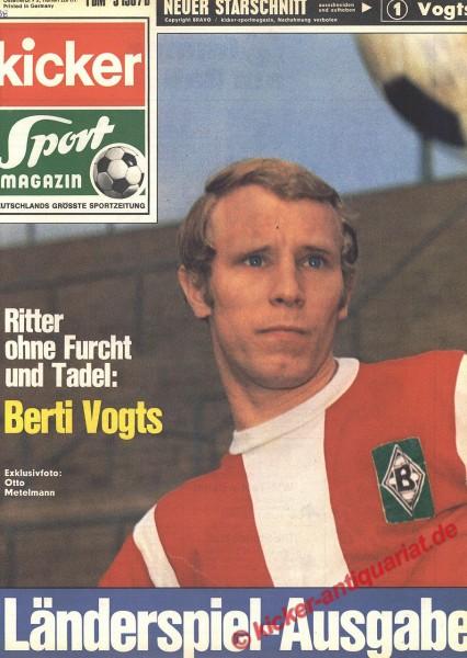 Kicker Sportmagazin Nr. 38, 11.5.1970 bis 17.5.1970