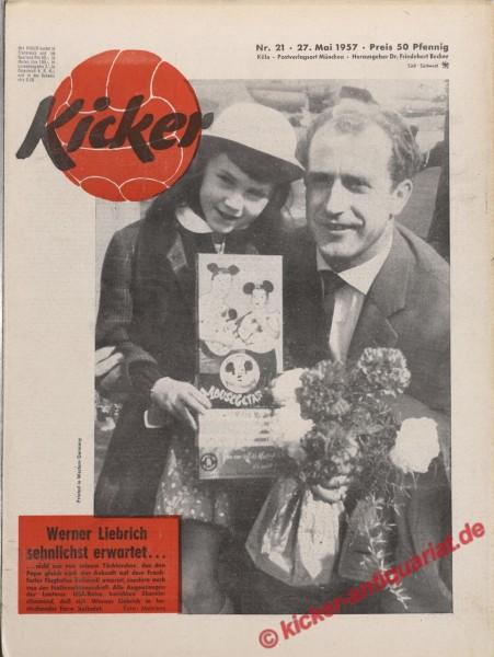 Kicker Nr. 21, 27.5.1957 bis 2.6.1957