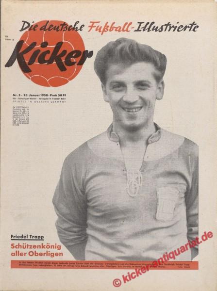 Kicker Nr. 3, 20.1.1958 bis 26.1.1958