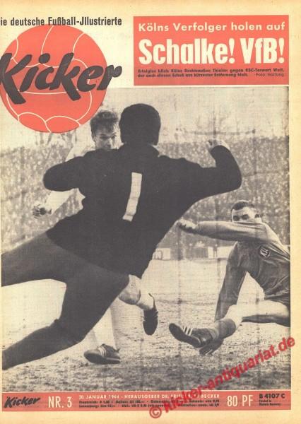 Kicker Nr. 3, 20.1.1964 bis 26.1.1964