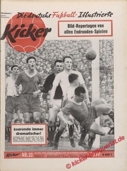 Kicker Nr. 22, 30.5.1960 bis 5.6.1960