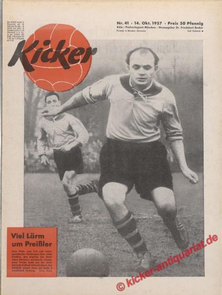 Kicker Nr. 41, 14.10.1957 bis 20.10.1957
