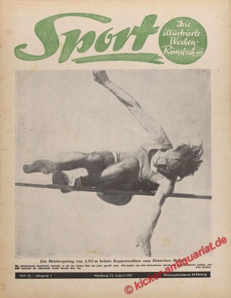 Sportmagazin Nr. 32, 13.8.1947 bis 19.8.1947