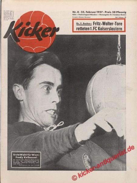 Kicker Nr. 8, 25.2.1957 bis 3.3.1957