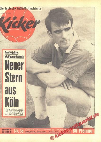 Kicker Nr. 36, 9.9.1963 bis 15.9.1963