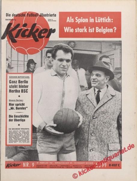 Kicker Nr. 9, 27.3.1961 bis 2.4.1961