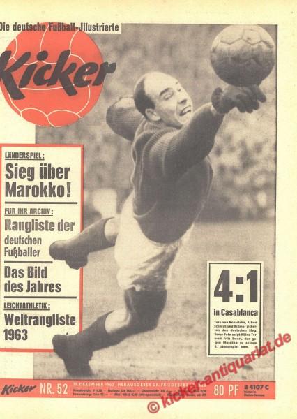 Kicker Nr. 52, 30.12.1963 bis 5.1.1964
