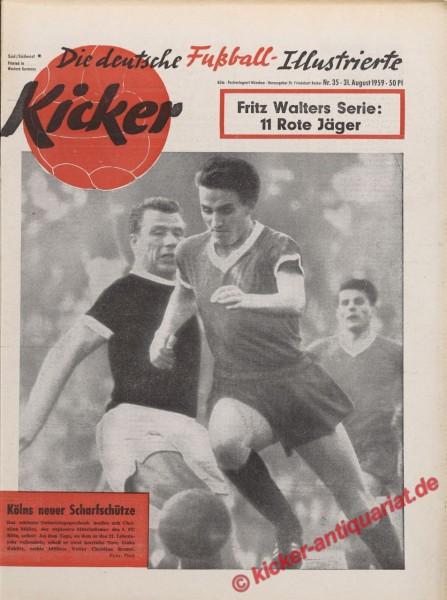 Kicker Nr. 35, 31.8.1959 bis 6.9.1959