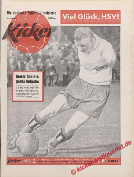 Kicker Nr. 3, 16.1.1961 bis 22.1.1961