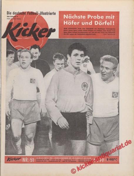 Kicker Nr. 51, 18.12.1961 bis 24.12.1961