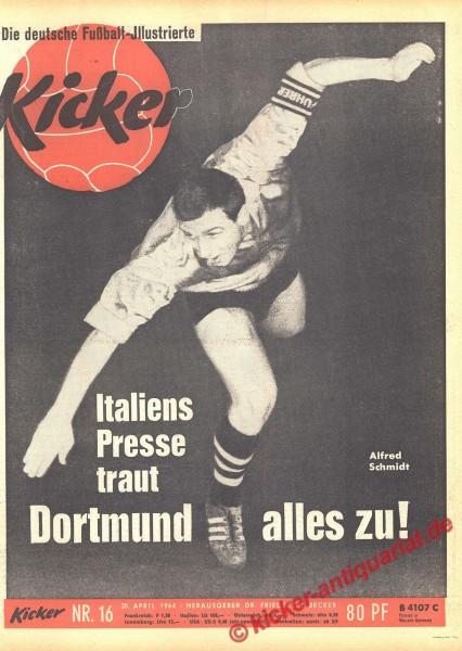 Kicker Nr. 16, 20.4.1964 bis 26.4.1964