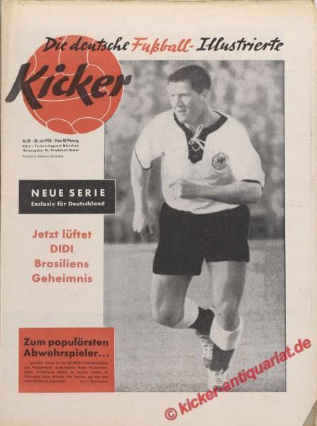 Kicker Nr. 30, 28.7.1958 bis 3.8.1958