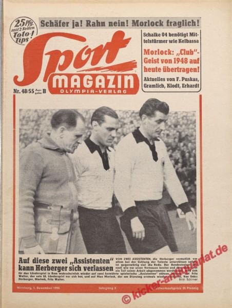 Sportmagazin Nr. 48B, 1.12.1955 bis 7.12.1955