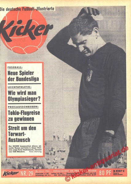 Kicker Nr. 29, 20.7.1964 bis 26.7.1964