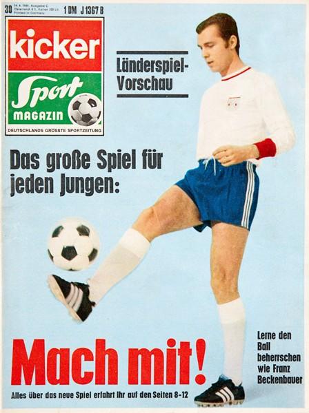 Kicker Sportmagazin Nr. 30, 14.4.1969 bis 20.4.1969