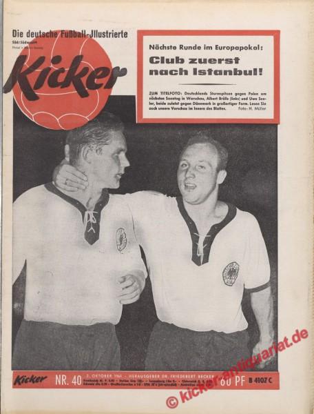 Kicker Nr. 40, 2.10.1961 bis 8.10.1961