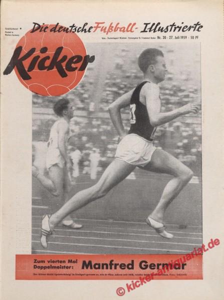 Kicker Nr. 30, 27.7.1959 bis 2.8.1959