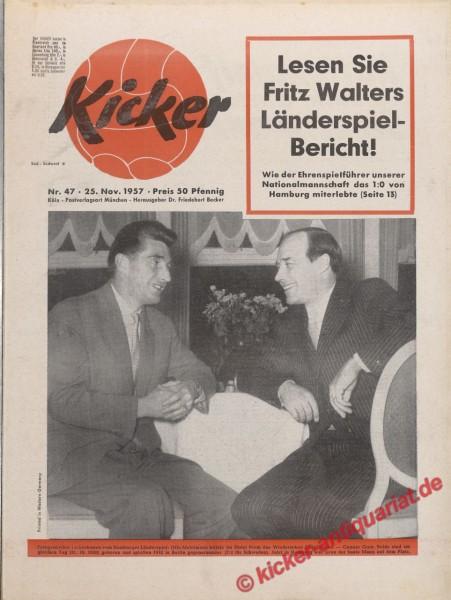Kicker Nr. 47, 25.11.1957 bis 1.12.1957