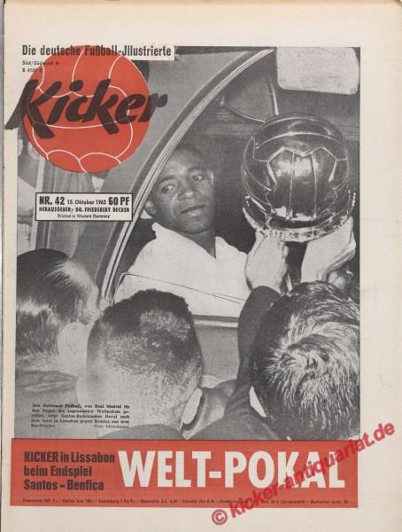 Kicker Nr. 42, 15.10.1962 bis 21.10.1962
