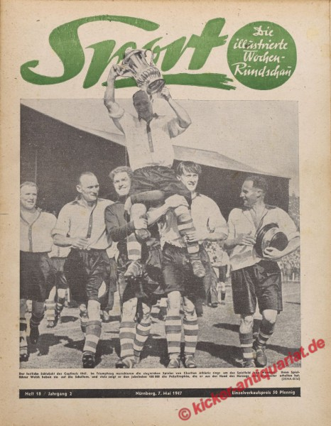 Sportmagazin Nr. 18, 7.5.1947 bis 13.5.1947