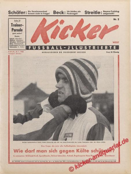 Kicker Nr. 2, 10.1.1955 bis 16.1.1955