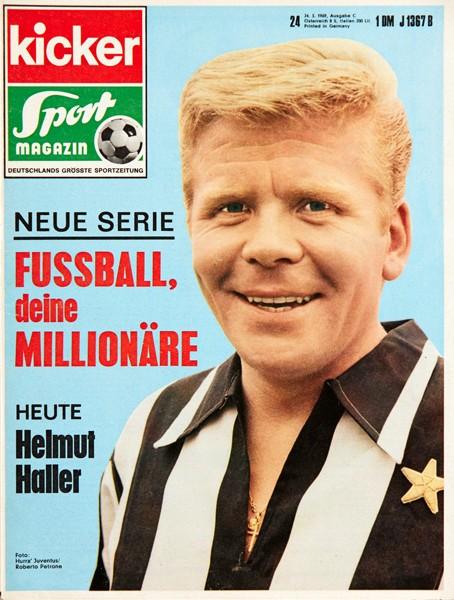Kicker Sportmagazin Nr. 24, 24.3.1969 bis 30.3.1969