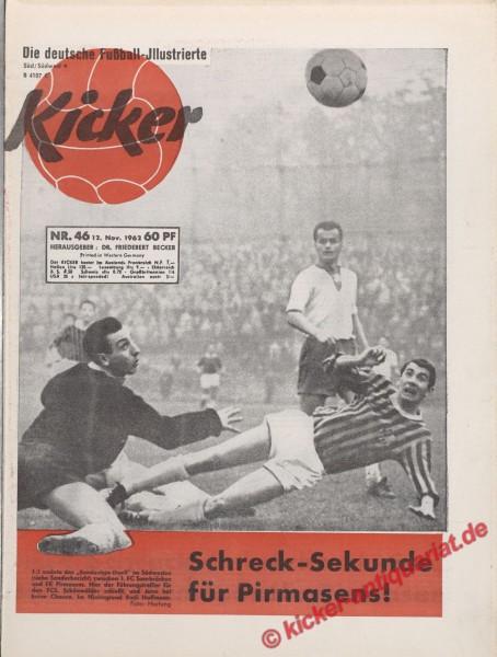 Kicker Nr. 46, 12.11.1962 bis 18.11.1962