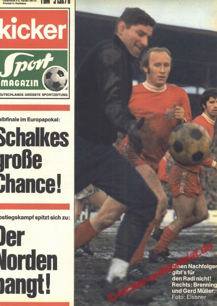 Kicker Sportmagazin Nr. 26, 30.3.1970 bis 5.4.1970