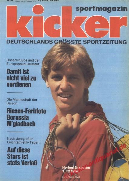 Kicker Sportmagazin Nr. 56, 14.7.1975 bis 20.7.1975