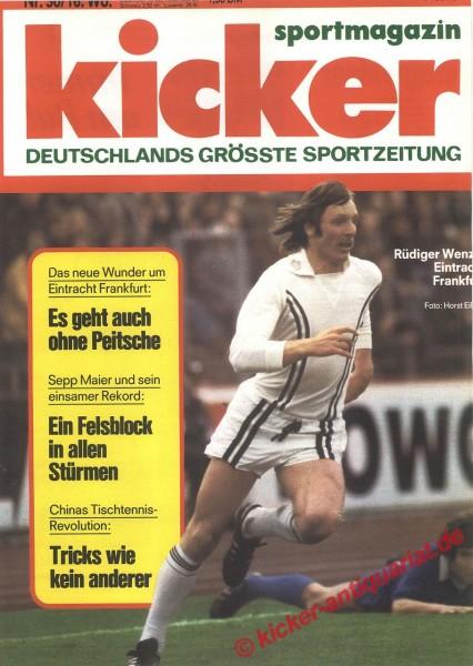 Kicker Sportmagazin Nr. 30, 12.4.1977 bis 18.4.1977