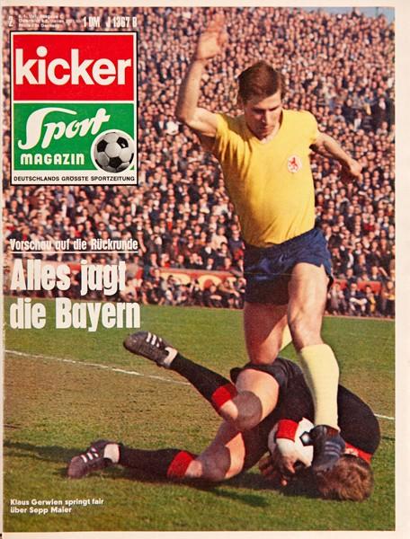 Kicker Sportmagazin Nr. 2, 6.1.1969 bis 12.1.1969