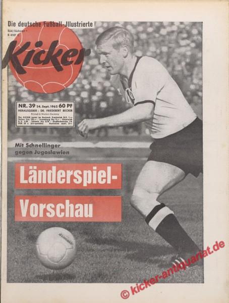 Kicker Nr. 39, 28.9.1962 bis 4.10.1962