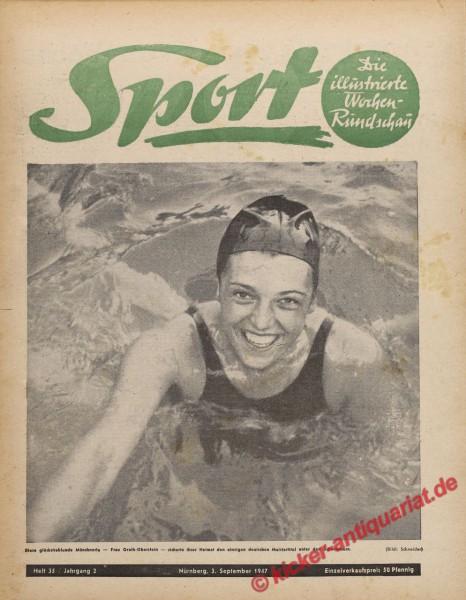 Sportmagazin Nr. 35, 3.9.1947 bis 9.9.1947