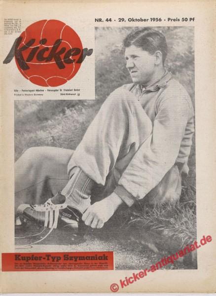 Kicker Nr. 44, 29.10.1956 bis 4.11.1956