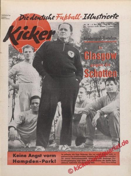 Kicker Nr. 18, 4.5.1959 bis 10.5.1959