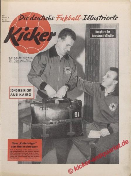 Kicker Nr. 52, 29.12.1958 bis 4.1.1959